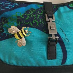 ade99606a73f Gucci Bags | Classic Jackie O Handbag W Bumble Bee Deta | Poshmark